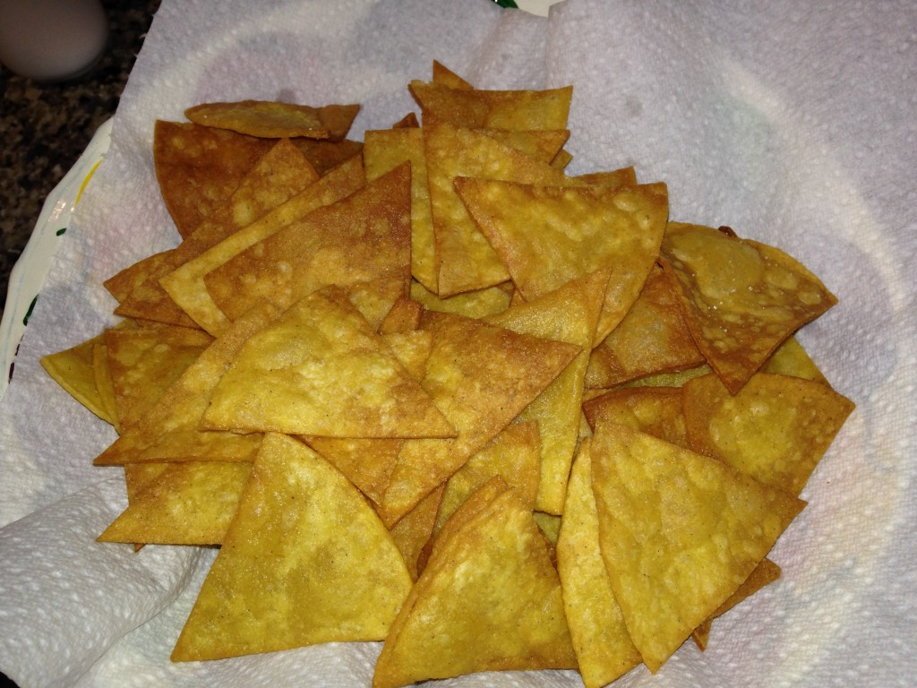 Taco Chips Home Made And Great The Border Cook