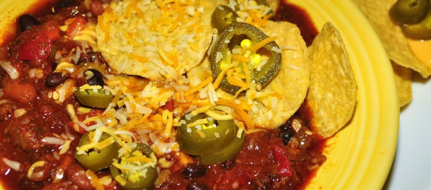 Tex-Mex Chili with Beans