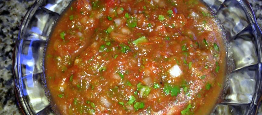 Fresh Roasted Tomato Salsa