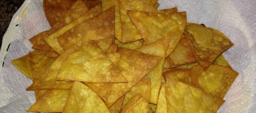 Taco Chips – Home Made and Great
