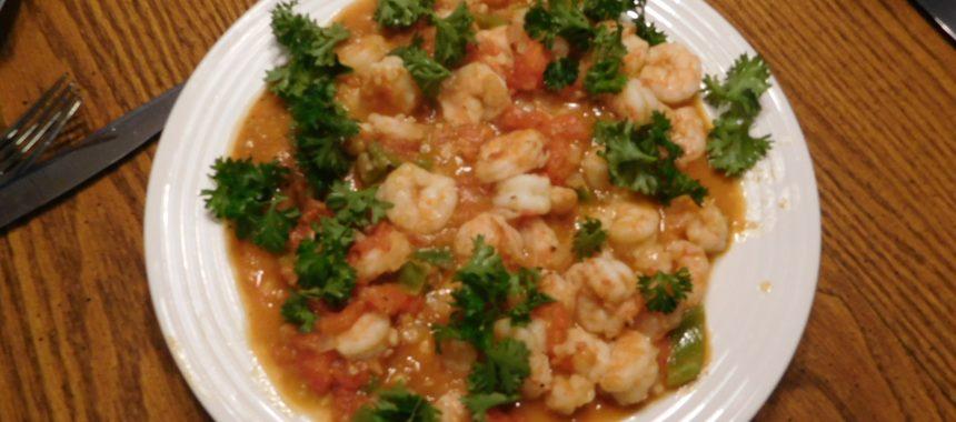 Shrimp Mexican Style
